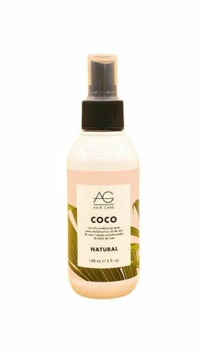 Ag hair care coco nut milk conditioning spray