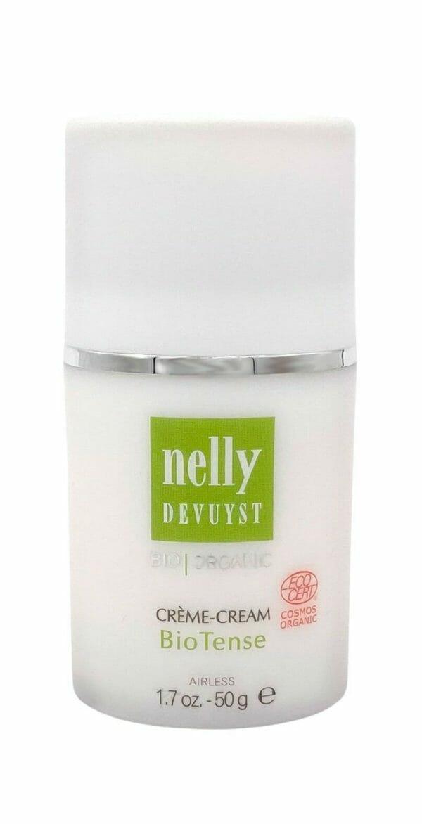 Nelly devuyst creme cream biotense bottle