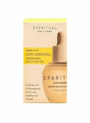 Sparitual nail care apple fruit cuti cocktail vegan nail cuticle oil