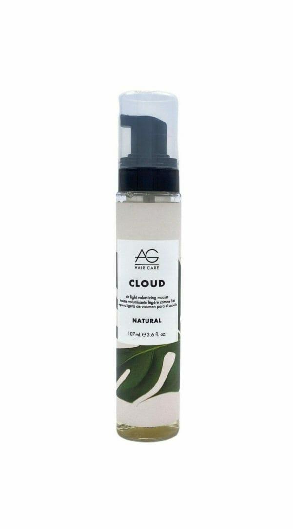 Ag Hair Care Cloud Air Light Volumizing Mousse Natural Bottle