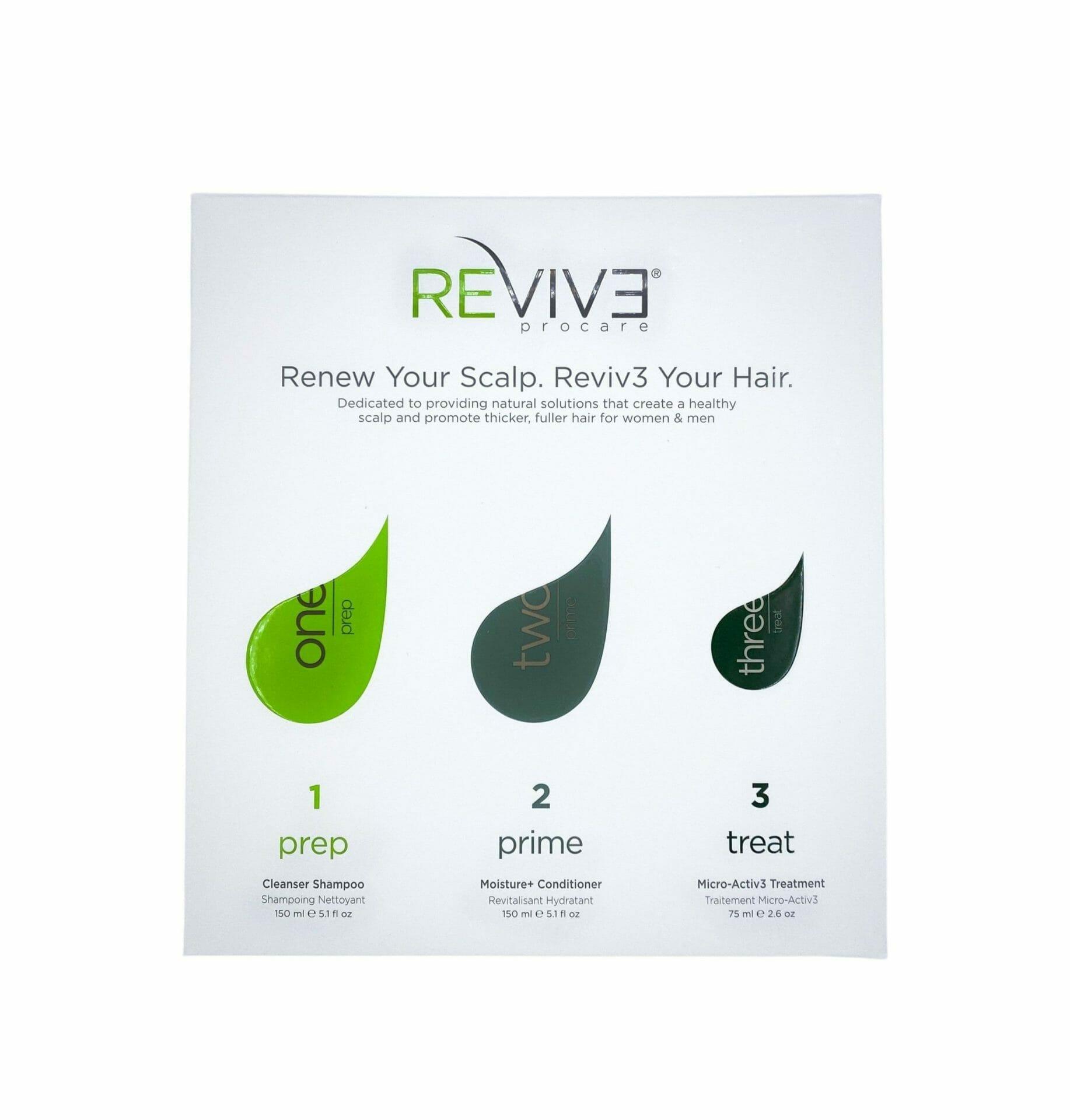 Revive 30 Day – 3 Part Starter Kit for Thin Hair